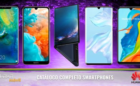 Huawei P30, P30 Pro y P30 lite, así encajan dentro del catálogo completo de smartphones Huawei en 2019
