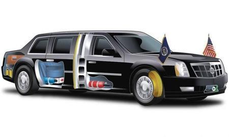 La limusina de Barack Obama, al detalle