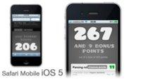 Novedades en la versión de Safari Mobile incluida en la beta de iOS 5: mejor soporte en HTML5