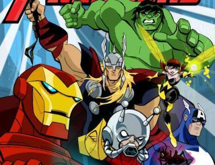 Los Vengadores de Marvel, a la Tv en formato animado
