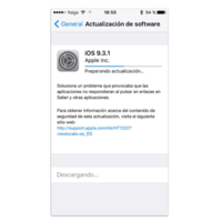 iOS 9.3.1 ya disponible, con la solución al bug de la apertura de links