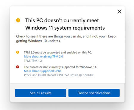 Pc Health Check Actualizacion Herramienta Compatibilidad Windows 11