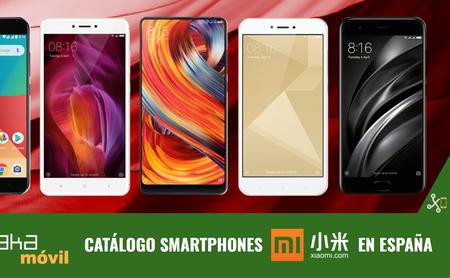 El catálogo de Xiaomi en España: smartphones para todos los gustos, desde 99 hasta 499 euros