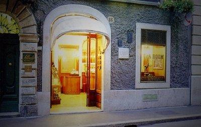 El Caffé Greco, el más antiguo de Roma