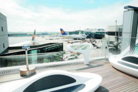 Open Air Deck es la nueva azotea de diseño del aeropuerto de Frankfurt, ¿hacemos escala?