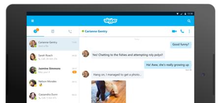 Skype 7.0 para Android, ahora con una interfaz para tablets, buscador universal y más