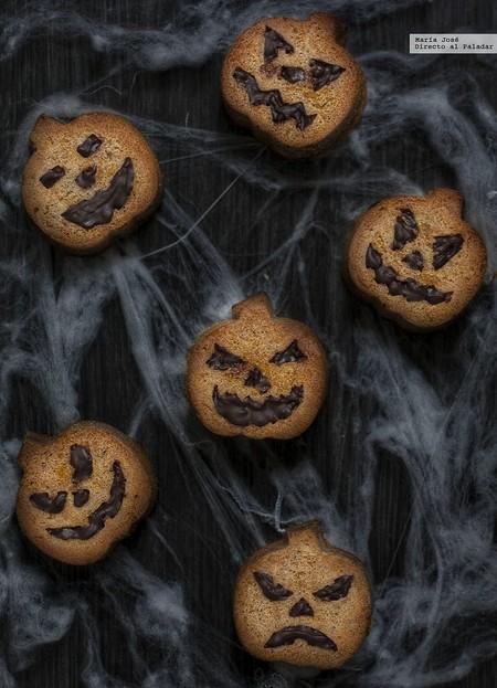 Terroríficos bizcochitos de calabaza y canela, receta de Halloween