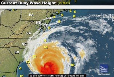 Los vuelos que atraviesan huracanes