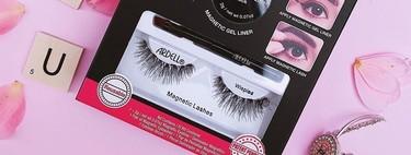 He probado las pestañas imantadas con eyeliner magnético de Ardell y puedo decir que son súper fáciles de poner y duran hasta ocho horas