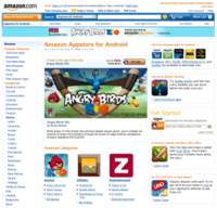 Amazon le echa un cable a Android con su AppStore