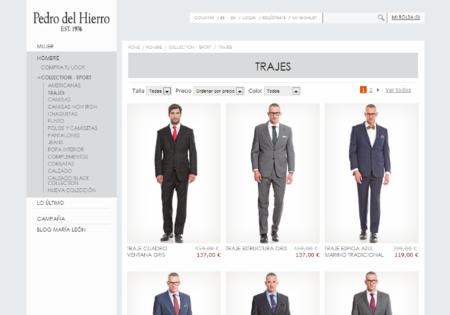 Las webs de moda que necesitan un lavado de cara urgente