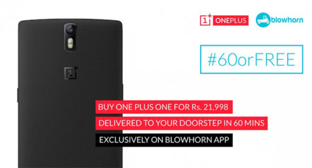 Oneplus Blowhorn Ad