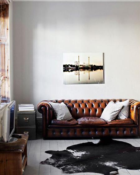 Sofa Cuero 2