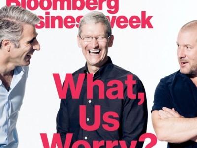 """""""Nunca nos hemos planteado lanzar un iPhone de bajo coste"""": Tim Cook habla en el Business Week con Jony Ive y Craig Federighi"""