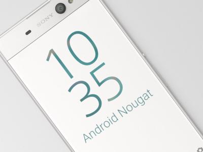 Estos son los móviles de Sony que se actualizarán a Android 7.0 Nougat