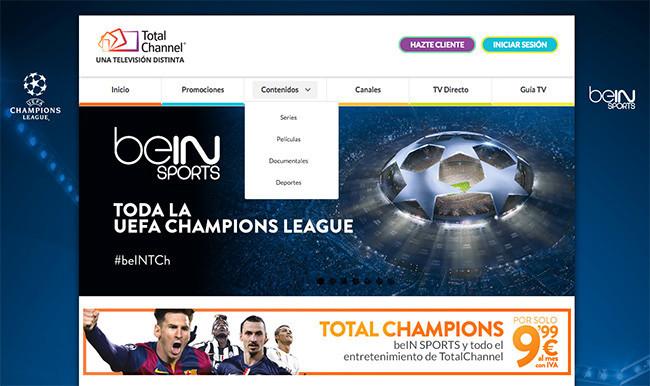TotalChannel se estrena en la Champions con una caída total de su servicio, ¿hay alternativas?