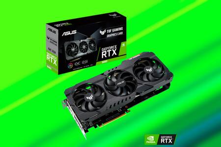 Juega en PC a los títulos más exigentes con la tarjeta gráfica ASUS TUF Gaming RTX 3060 de 12 GB, en Amazon a 655,68 euros