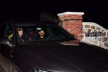Kiko Rivera llega a cantora en el coche de su primo Manuel Cortés, hijo de Raquel Bollo GTRES