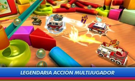 Micro Machines aterriza en Android con este divertido juego de carreras y combates multijugador