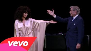 Menuda intensidad la de Lady Gaga en su nuevo videoclip con Tony Bennett