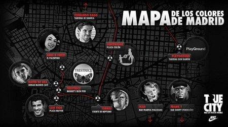 Nike True City: descubre Madrid desde el iPhone y de la mano de famosos