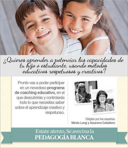 Se presenta 'La Pedagogía Blanca': programa para que padres y profesores acompañen desde el respeto el aprendizaje de los niños