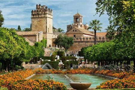 Alcazar de los Reyes Cristianos en Cordoba, Andalucia, España