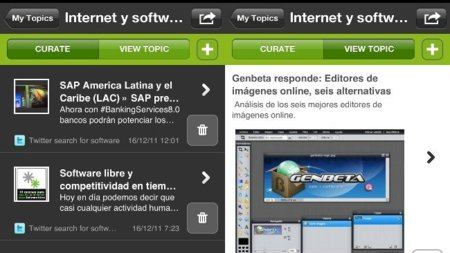 Scoop.it lanza su aplicación para iPhone