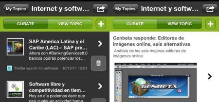 Scoop.it lanza su aplicación para iPhone