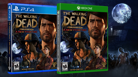 The Walking Dead A New Frontier Box