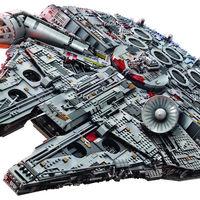 Este increíble Halcón Milenario de Star Wars es el set de Lego más grande y costoso que se haya creado jamas
