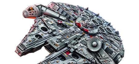 Este increíble Halcón Milenario de Star Wars es el set de Lego más grande y costoso que se haya creado jamás