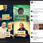 """""""Je suis Pornhub"""": así protestan los rusos aficionados al porno contra el bloqueo del servicio"""