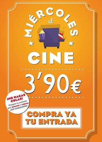Se amplían hasta el 9 de julio los 'Miércoles al Cine' con entradas a 3,90 euros