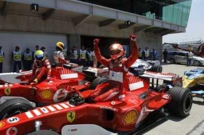 Doblete de Ferrari en USA