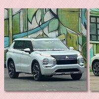 ¡Pillado! El nuevo Mitsubishi Outlander PHEV será un SUV más agresivo, más todoterreno y aparentemente más grande