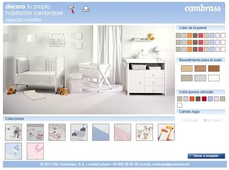 Planificación para la decoración de la habitación del bebé