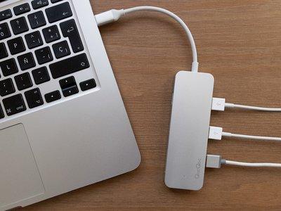 Hub USB-C de QacQoc: este hub es versátil, veloz y con un diseño propio de Apple