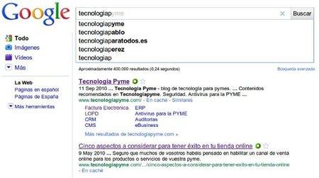 Cómo afecta Google Instant al posicionamiento web