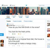 Chandler y Twitter