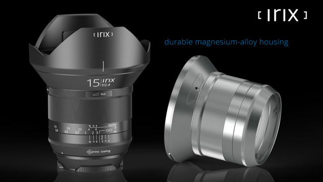 Irix Blackstone Durable Magnesium Alloy Housing