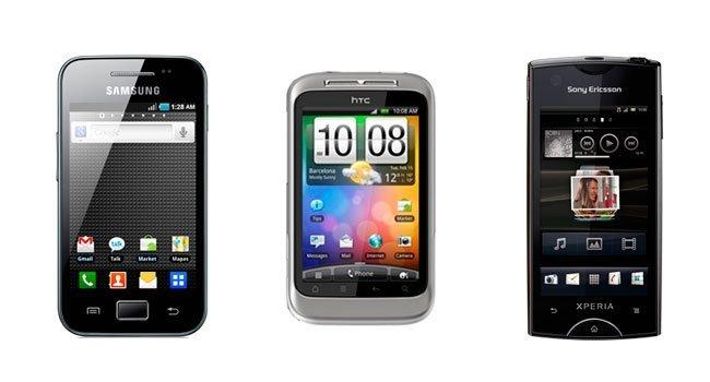 Smartphone Android de entrada