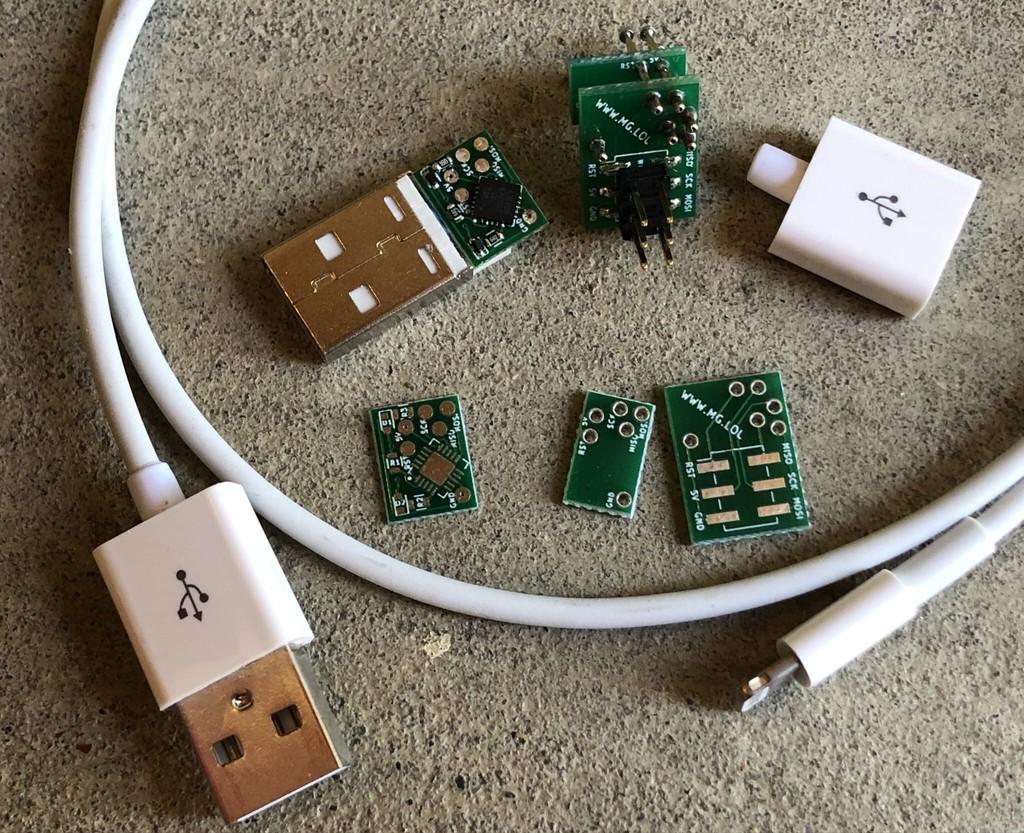Este cable USB original de Apple podría controlar una PC remotamente con un malware