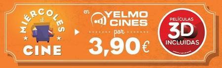 Yelmo cines amplía los miércoles de cine low-cost hasta nuevo aviso