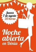 Descuentos y ocio gratis con 'La Noche Abierta' de Dénia el 7 de agosto