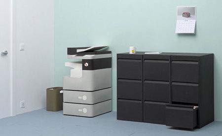 Alexis Facca nos sorprende ahora con una oficina de papel