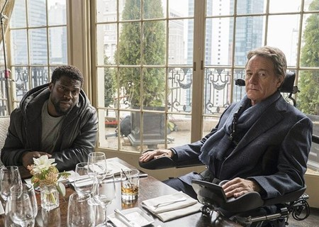 Kevin Hart y Bryan Cranston en la primera imagen del remake de 'Intocable'