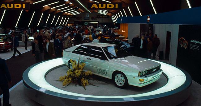 Tracción Quattro de Audi: ya van cinco millones de vehículos