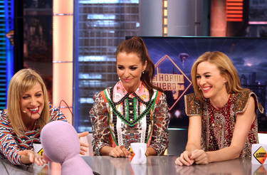 Las chicas 'Velvet' promocionan la nueva temporada de la serie en el Hormiguero al ritmo de El Taxi