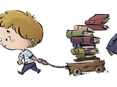 ¿Mochila o carrito con ruedas para ir al colegio?